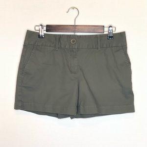 Ann Taylor Loft Olive Green Riviera Shorts